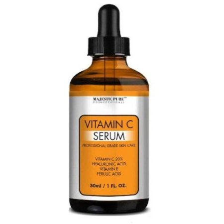 Vitamina C 20% Majestic Pure 30 Ml Envelhecimento Prematuro Antioxidantes
