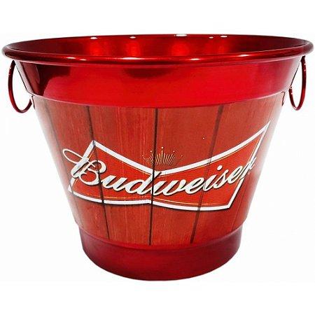 Balde De Gelo 6 Litros Em Alumínio Personalizado Pintura Eletrostática Budweiser