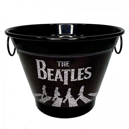 Balde De Gelo 6 Litros Em Alumínio Personalizado Pintura Eletrostática The Beatles