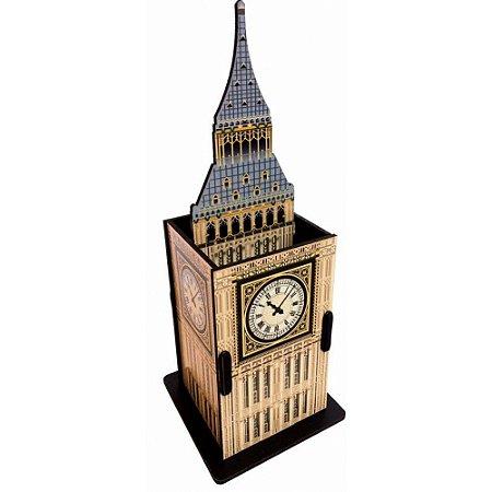Porta Objetos Controle Remoto Acessórios Relógio Big Ben