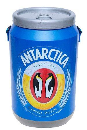 Cooler Caixa Termica Cerveja Antarctica Azul 24 Latas