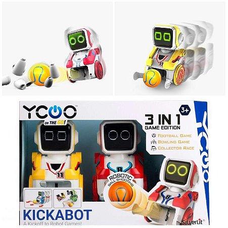 Robôs Jogadores De Futebol Boliche Corrida Inteligente Campeonato Paulista Times Brinquedo