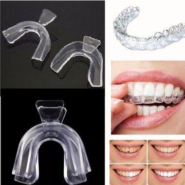 Bruxismo Ranger Dentes Desgaste Placa Moldável Par
