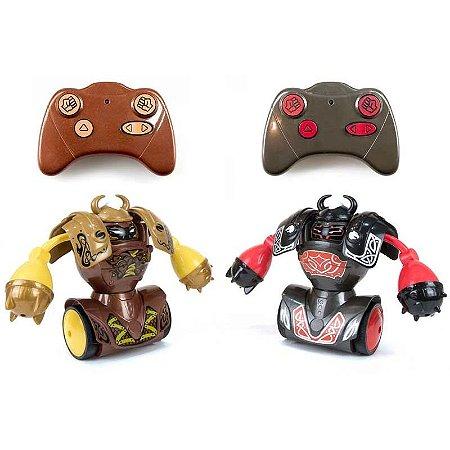 Brinquedo Robo Kombat Vikings Luta Silverlit Diversão DTC