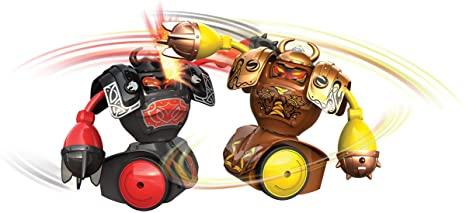 Figuras Eletrônicas Movimentos Flexíveis Robo Kombat Viking Silverlit