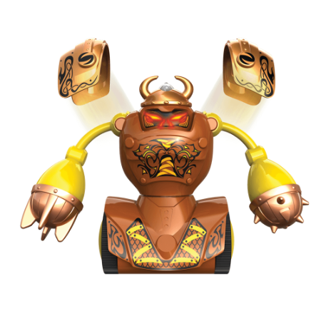 Robos Vikings Silverlit Armadura Jogo de Luta Acessórios