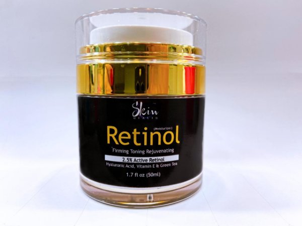 Anti Rugas Creme Retinol Ácido Hialurônico 50ml Skin Health