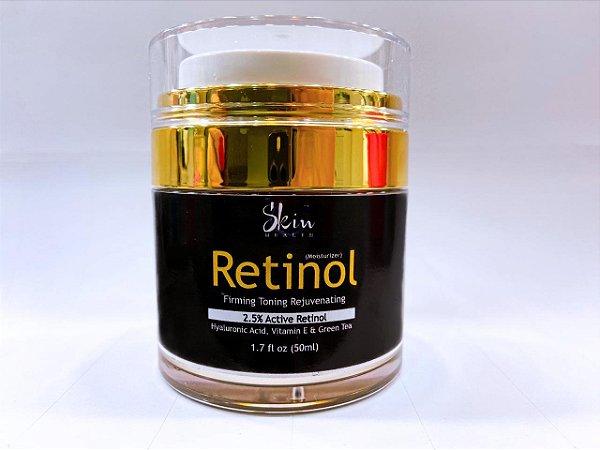 Creme Retinol 2,5% 12hrs Hidrata Pele Seca Anti-rugas 50ml