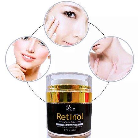 Retinol Com Ácido Hialurônico Skin Health Antirrugas Noturno