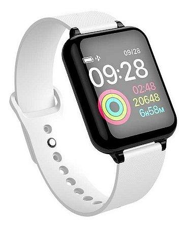Smartwatch Oximetro Pressão Pulso Passos Relógio Fit