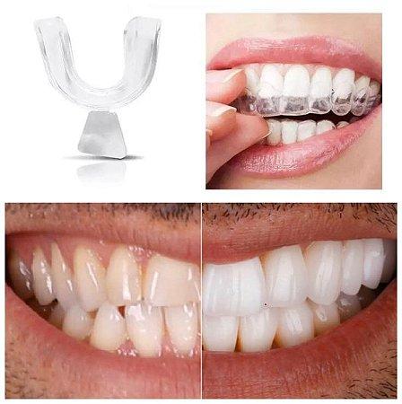 Placas Molde Para Bruxismo Ranger De Dentes Ou Desgaste 1 Par