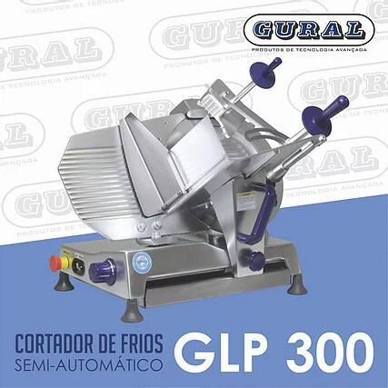 Cortador de Frios Semi-Automático GLP 300 GURAL