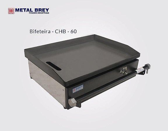 Chapa Bifeteira de 60 cm CHB - 60 Metal Brey