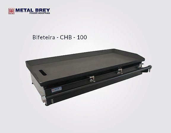 Chapa Bifeteira de 100 cm CHB - 100 Metal Brey