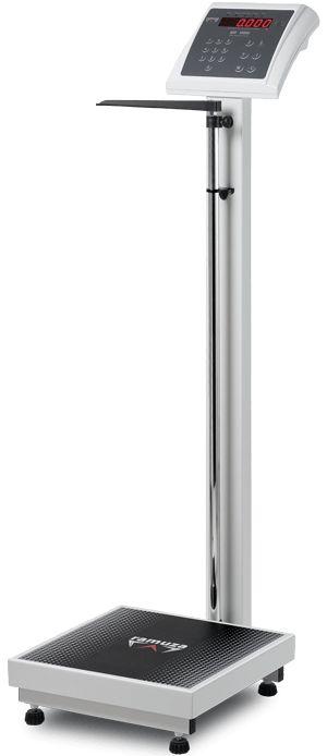 Balança b Antropométrica 6 Dígitos Capacidade 300kg/100g PLAT 50X50 Ramuza