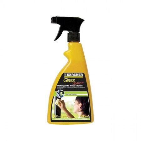 Detergente Glass Cleaner 500 ML - Com Borrifador