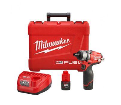 Parafusadeira Milwaukee M12 2402-259 1/4 Pol 12V Fuel