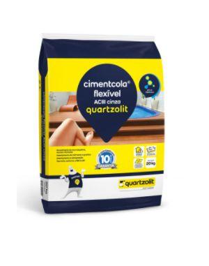 Argamassa Cimentcola Flexível ACIII Cinza Quartzolit