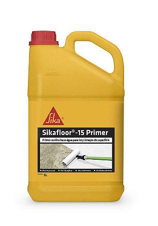 Sikafloor®-15 Primer - Primer acrílico base água para imprimação de superfície