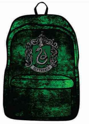 Mochila Harry Potter Sonserina