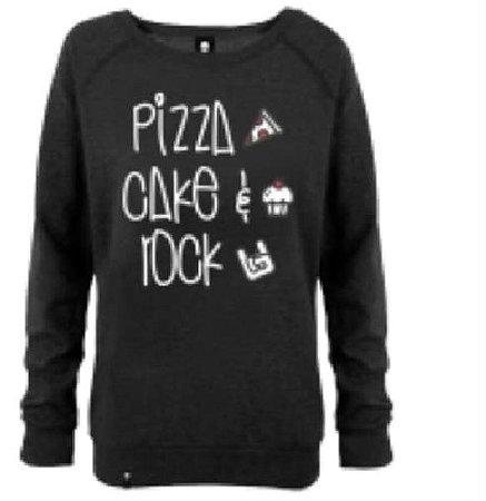 Moletom Pizza Rock