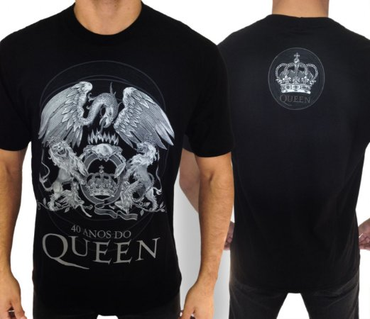 Camiseta Queen 40 anos