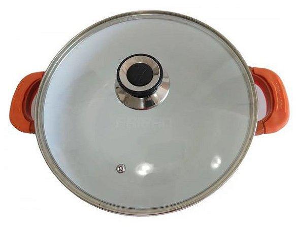 Caçarola Orange 24Cm. Ceramic Antiaderente Diamantado