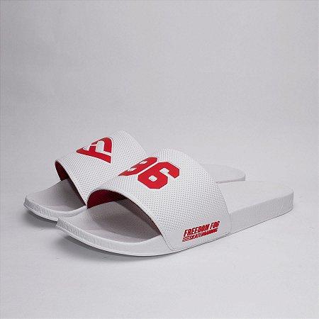 96' Branco/Vermelho