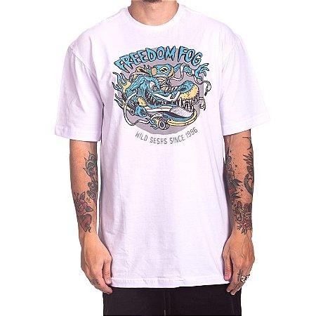 Camiseta Freedom Fog - Dragão Branca