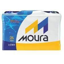 Bateria Moura 60 Ah - 24 meses de garantia