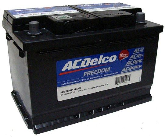 Bateria ACDelco 70 AH - Original Chevrolet