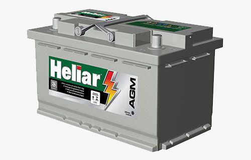 Bateria Heliar Start Stop  AGM AG80KD