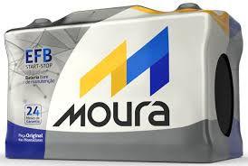 Bateria Moura EFB 72 AH – Para Carro c/ Start-Stop