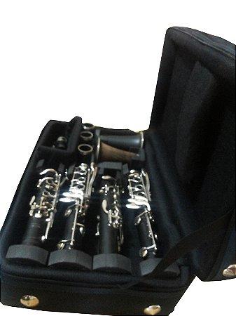 case para 2 clarinetes NYLON