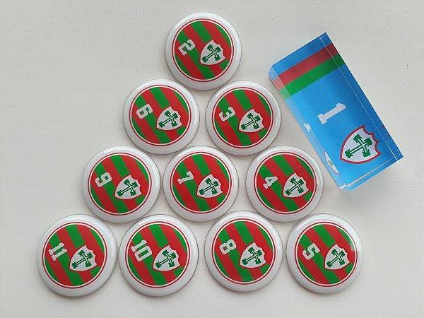 Futebol de botão da Lusa (escolha o ano do time nas observações)