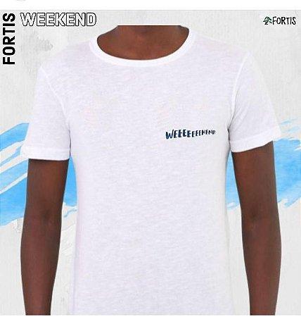 Camiseta  Fortis Wekkend Branca