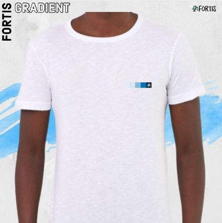 Camiseta  Fortis Gradiente Branca