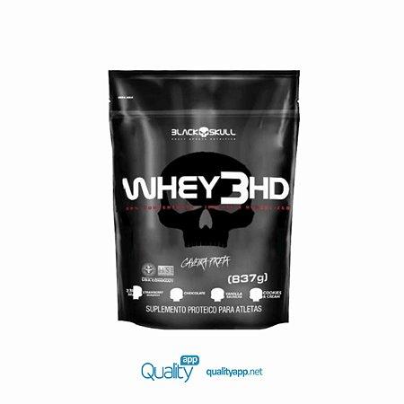 Whey 3 HD Refil (837g) - Black Skull