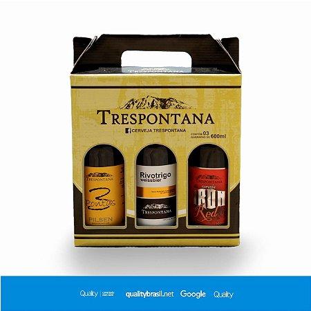 Kit Cerveja Artesanal Trespontana