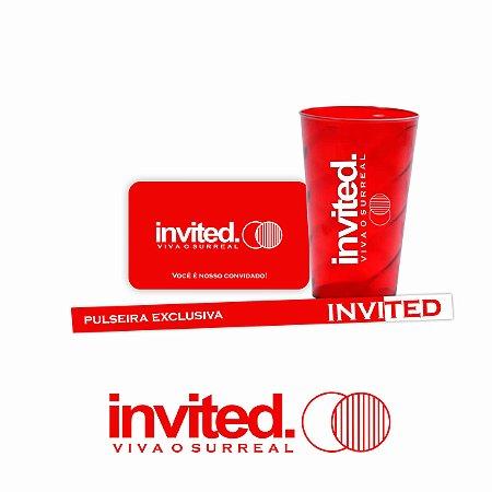 Festa Invited - Pré venda - Aguarde a data. (Valor + Taxas)