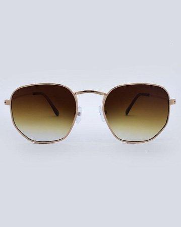Óculos Detroit Marrom Degradê
