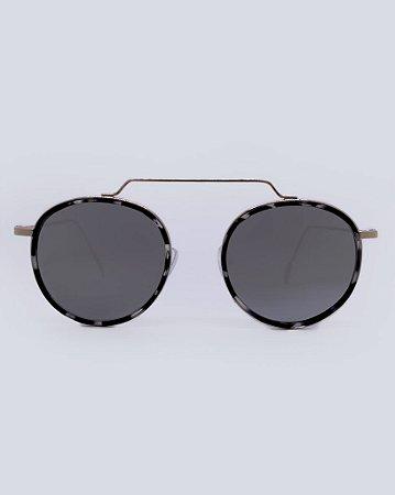 Óculos Mônaco Onça Espelhado