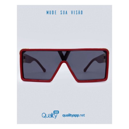 Óculos Olímpia Vermelho