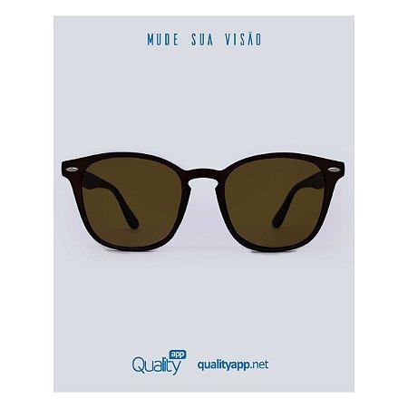 Óculos Lyon Marrom