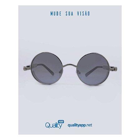 Óculos Vegas Prata Espelhado