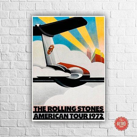 Quadro Poster American Tour II 1972