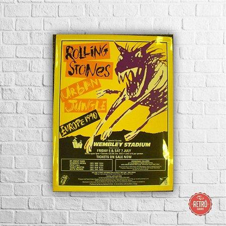 Quadro Poster Europa 1990
