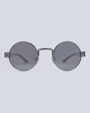 Óculos Drop Prata Espelhado