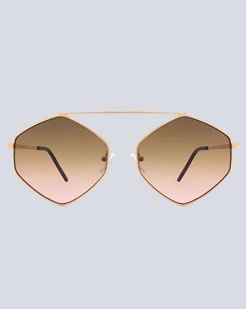 Óculos Marsala Degradê com Doura