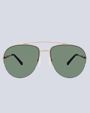 Óculos Aviador Alabama G15 com Dourado